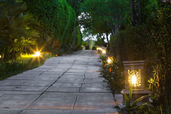 Improve Your Home With Landscape Lighting